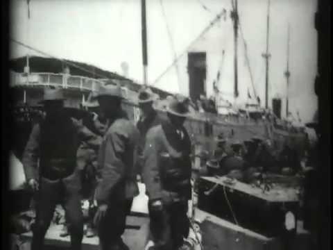 Roosevelt's Rough Riders Embarking For Santiago
