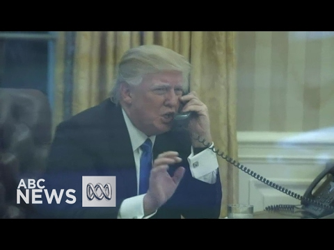 Donald Trump slams 'dumb' refugee deal with Australia after 'worst' phone call