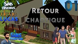 Les Sims : Histoire de vie [Lucas] - ep01 : Retour chaotique