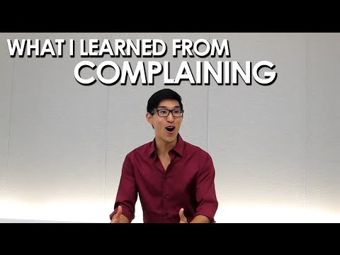 Humor Speech: What I Learned From Complaining (Live)