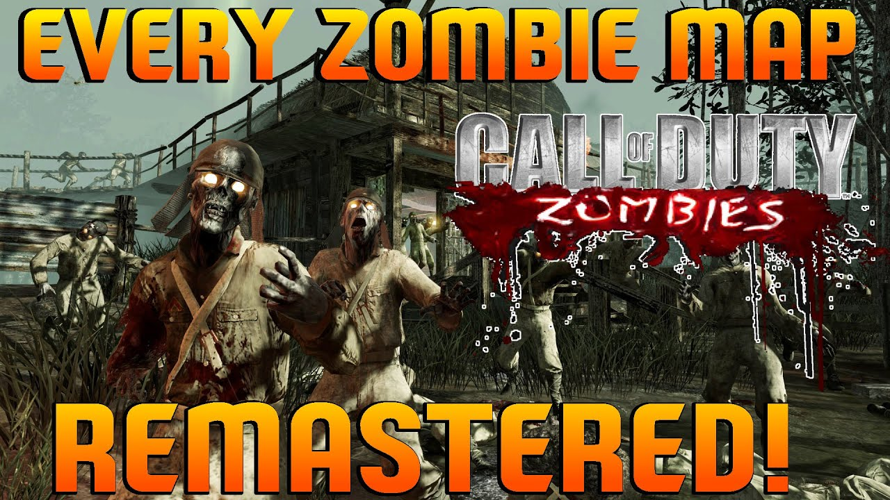 Black Ops EVERY Zombie Map Being Remastered Black Ops - All of us remastered bo3 zombies maps