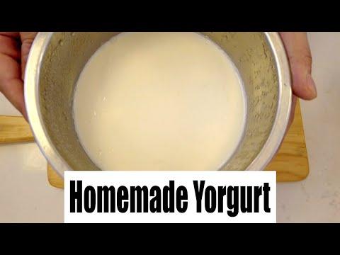 HỌC PHA CHẾ - BÀI 37 - TỰ LÀM SỮA CHUA   Homemade Yogurt With Oven Method ( Unsweetened )