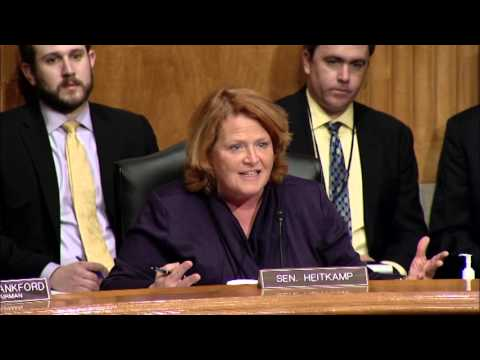 Heitkamp Helps Lead Senate Committee on Impact of Unfunded Mandates on State, Local Governments