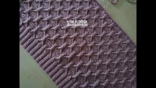 MANUFACTURING OF FABRIC BOTTLE WORK OF DIAMOND KNITTING MODEL KNOWLEDGE.