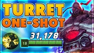 *30,000+ HP* I ONE SHOT EVERY TOWER (100 TO 0) - BunnyFuFuu