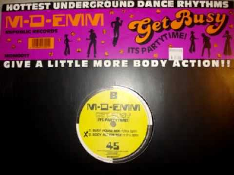 """M-D-Emm """"Get Busy (It's Partytime)"""" (Body Action MIx)"""