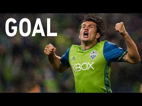 GOAL: Nelson Valdez opens the scoring with his second of the playoffs