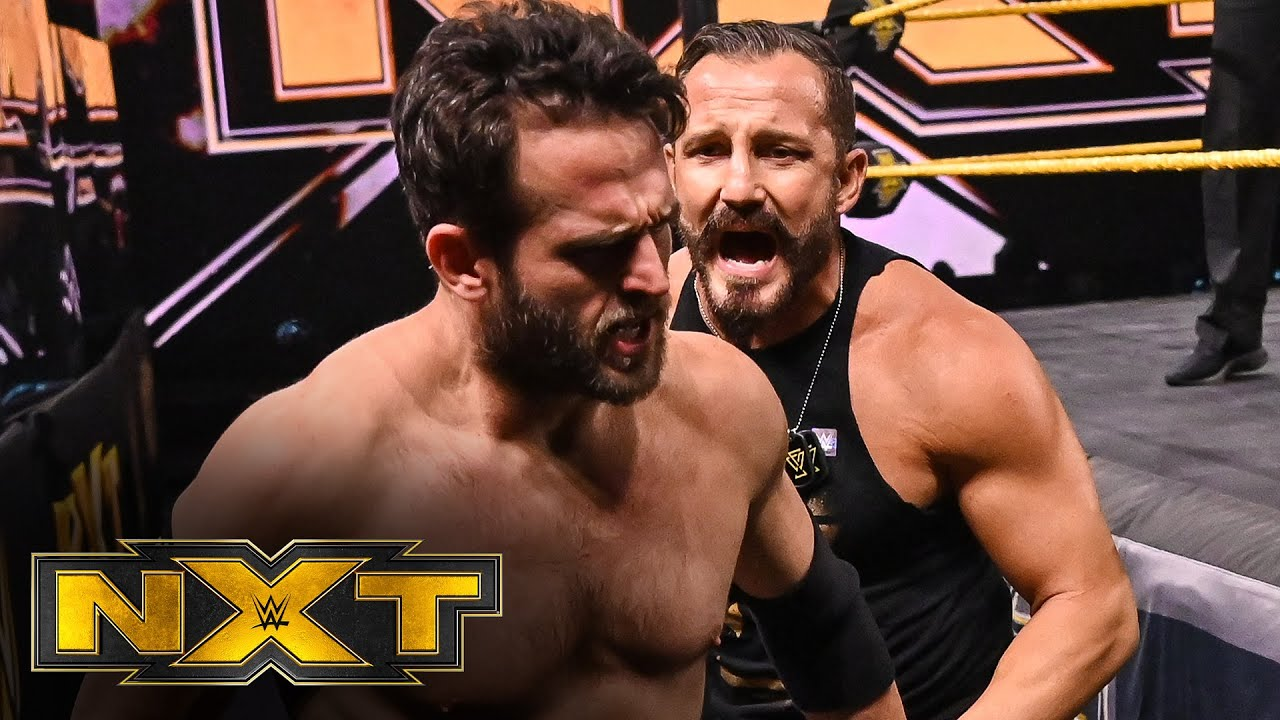 Bobby Fish tried to support Roderick Strong.