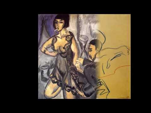 Kirchner Ernst Ludwig -German Expressionist  (1880-1938)