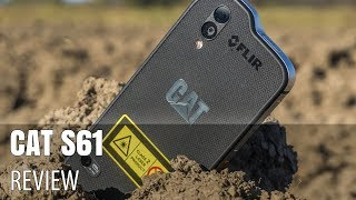 CAT S61 In-Depth Video Review (Rugged Phone Dropped on Concrete, Washed and More)