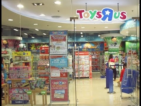 Visiting Toys R Us