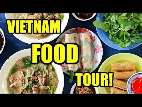 HUGE Vietnamese FOOD TOUR | Vietnam Travel Vlog