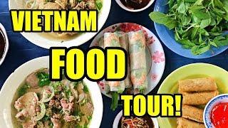 HUGE Vietnamese FOOD TOUR | Vietnam Travel Vlog