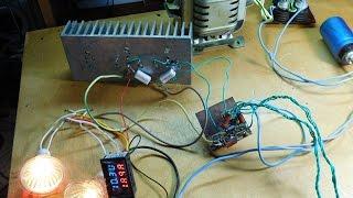 Лабораторный блок питания на 3-х транзисторах