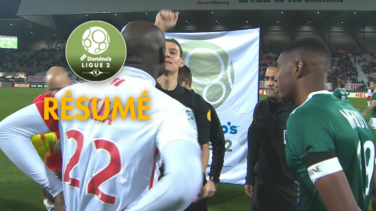 as nancy lorraine - red star fc   1-0   - r u00e9sum u00e9