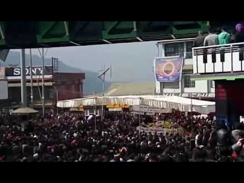 Kohima: Mass funeral service of two youth