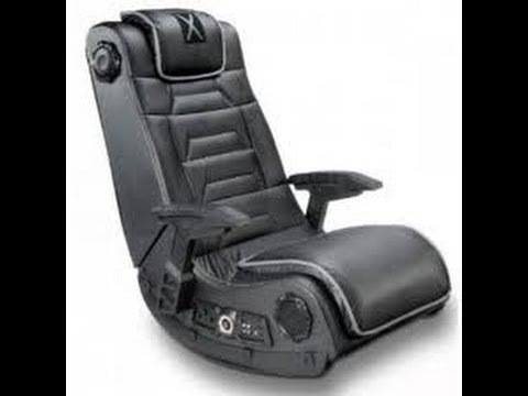 X rocker h audio gaming chair full review youtube