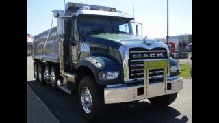 NEW MACK DUMP TRUCK FOR SALE.  2012 Quad axle dump truck