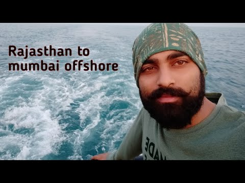 Journey from my home rajasthan to mumbai offshore    #ongc   #arabiansea    safetyfirst
