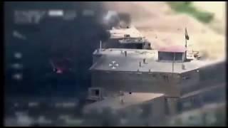 Бой с боевиками Исламского государства в Кабуле 21.08.2018. Вид с БПЛА
