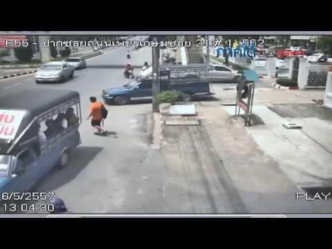 ภาพนาทีระเบิด สภ.หาดใหญ่ ยันชัดคนร้ายขับรถคาร์บอมบ์เข้ามาจอด