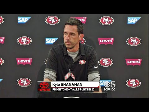 Post Game: 49ers Head Coach Kyle Shanahan Speaks to Media