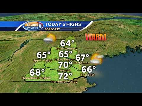 Watch: Record warmth before winter returns