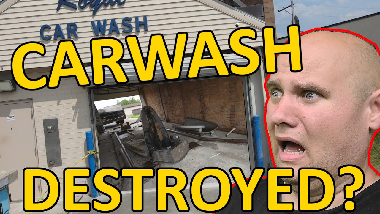 A Carwreck DESTROYED my Carwash! I NEED your HELP