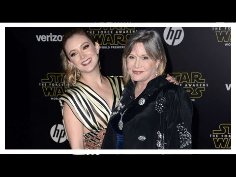 Billie lourd on life after losing carrie fisher and debbie reynolds