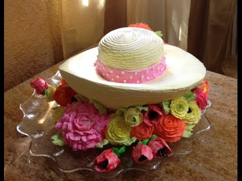 How To Make A Kentucky Derby Hat Cake