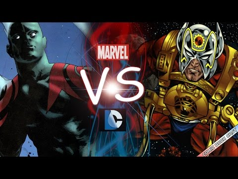 Drax The Destroyer Vs Orion - Comic Clash S6E2