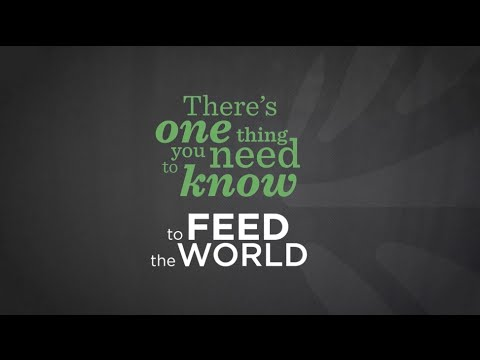 To feed the world: Global Landscapes Forum