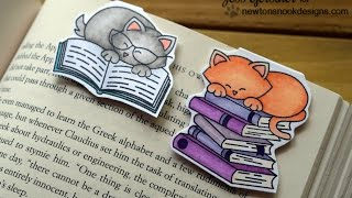 DIY Magnetic Bookmarks ft Newton's Nook Designs