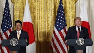 LIVE - President Donald Trump Press Conference with Japan PM Shinzō Abe 6-7-18