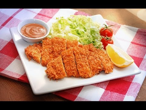 TONKATSU SAUCE & PORK Recipe / Japanese cuisine (tongkatsu)
