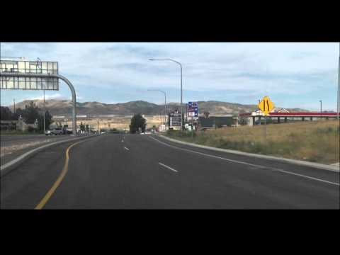 Diverging Diamond Interchange in Lehi, Utah