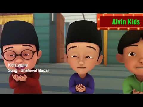 Sholawat Badar Versi Kartun Lucu Upin Ipin Lagu Anak Sholawat Nabi Syahdu Merdu Bersama Alvin Kids