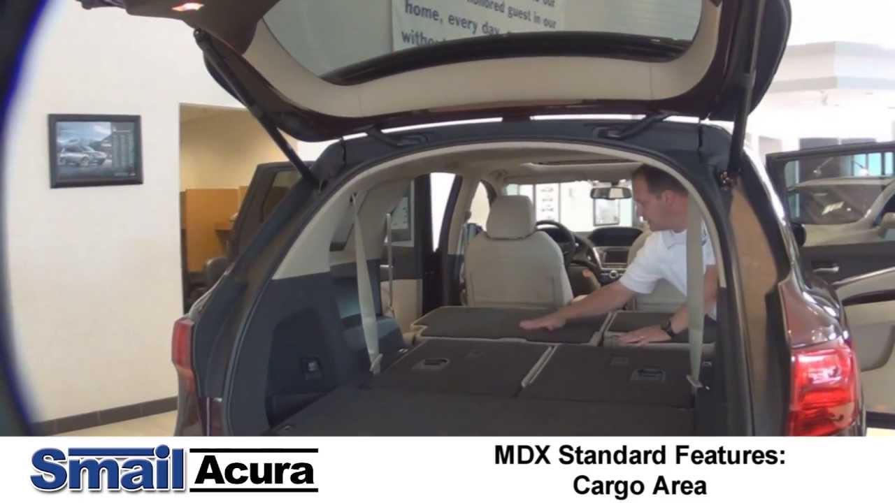 2014 Acura Mdx Cargo Area Youtube
