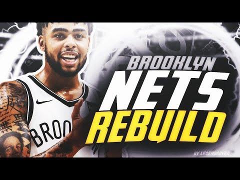 DLO GETTING TRADED?! BROOKLYN NETS REALISTIC REBUILD! NBA 2K19