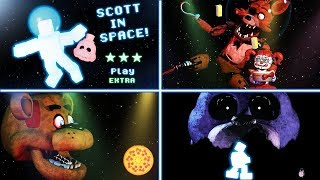 SCOTT IN SPACE! - All Endings / Extras / Secrets