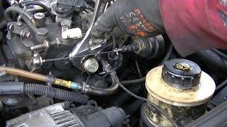 Changer une électrovanne d'avance sur pompe à injection diesel