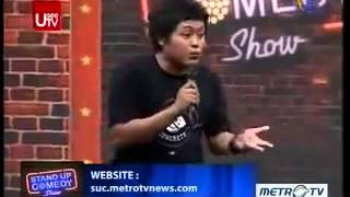 Anang batas Stand Up Comedy Indonesia Show Metro TV terbaru Tema  Cipok tangan