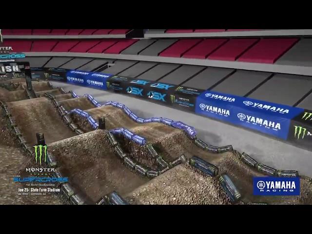 2020: Yamaha Animated Track Map | Glendale