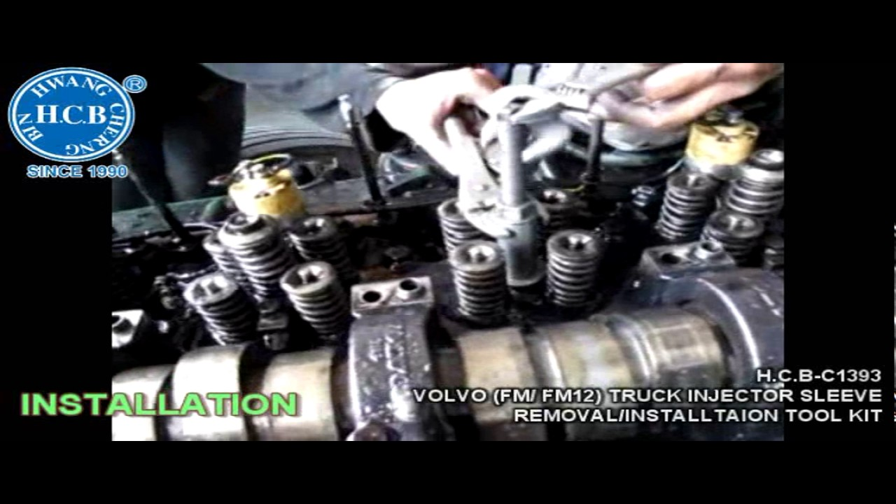HCB Auto Tools - H C B-C1393 VOLVO (FM/ FM12/ FH) TRUCK INJECTOR