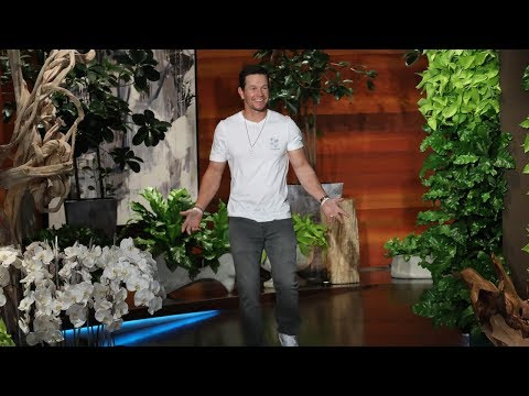 Ellen Plays 'Let's Bring Mark Wahlberg Out Here Right Now'