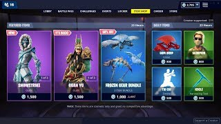 Guan Yu Skin & Tai Chi Emote (Back)! Fortnite Item Shop February 9, 2019