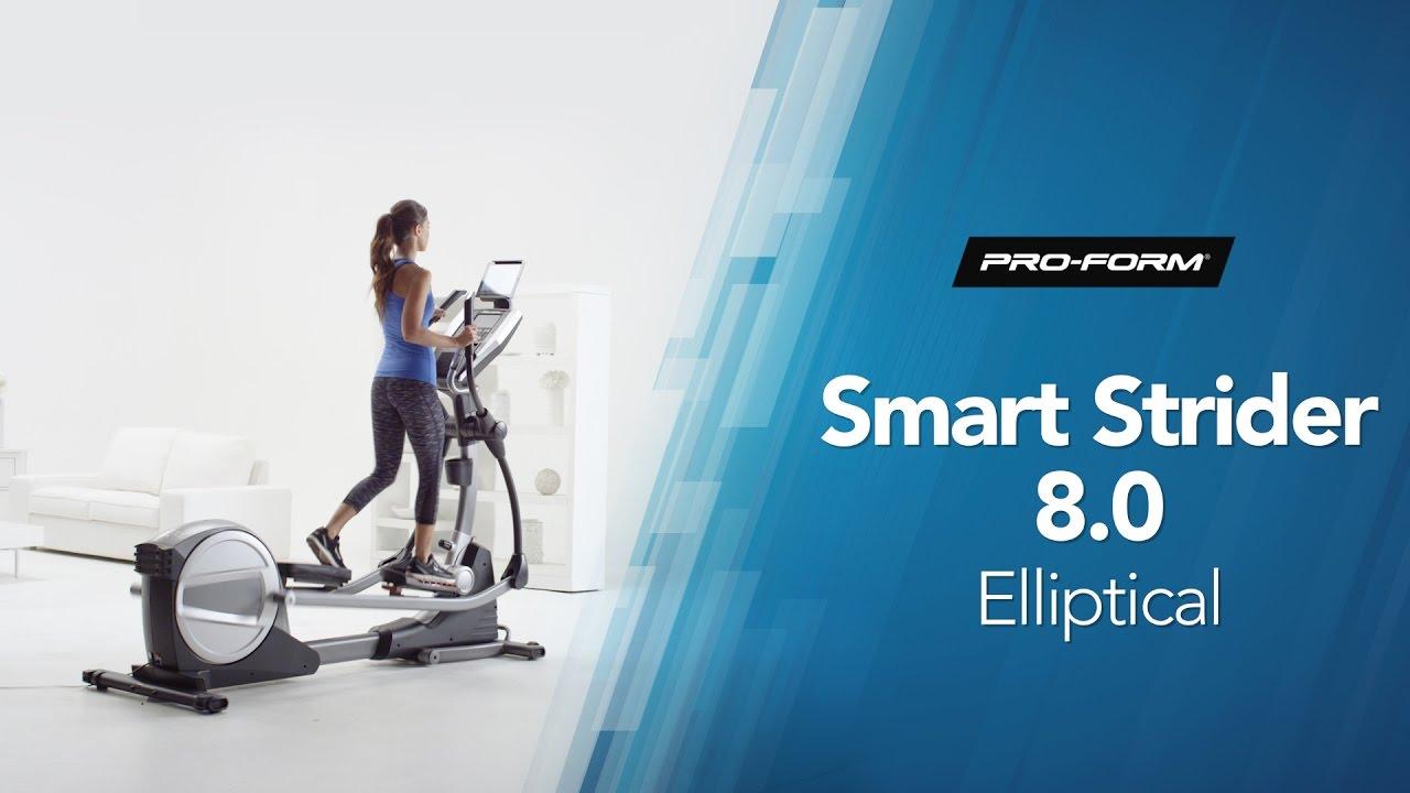 ProForm Smart Strider 8.0 Elliptical