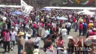 Se desinflan las protestas contra Peña Nieto en el DF