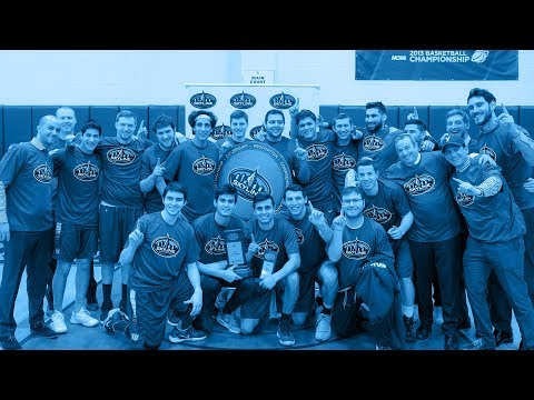 Yeshiva University Men's Basketball Wins First-Ever Conference Championship