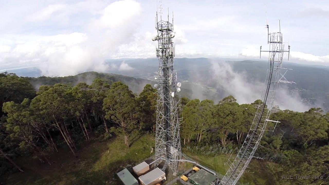 Building Construction Wallpaper Hd Tower Climber Rigging Communication Antennas Youtube